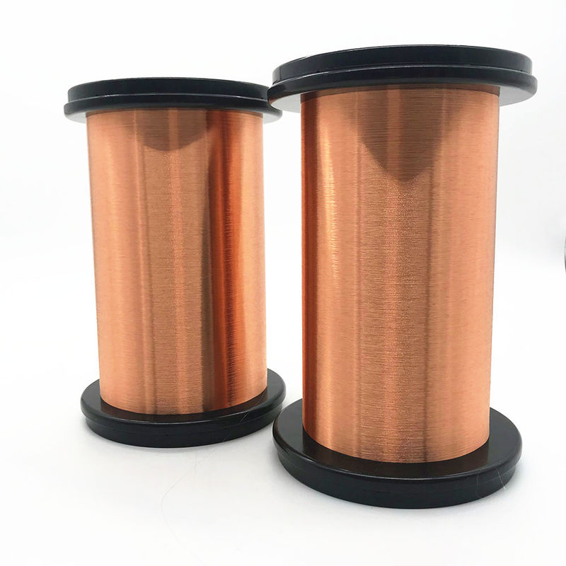 0.18mm Polyurethane Magnet Winding Wire Enameled Copper Wire For Transformer supplier