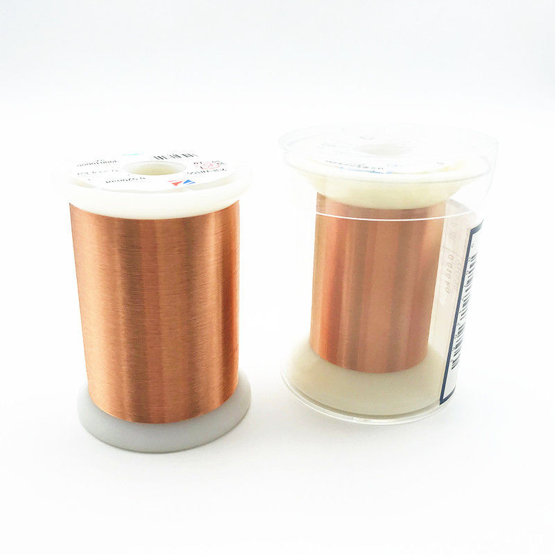 Solid UEW Insulation Class 155 0.011mm Magnet Copper Wire