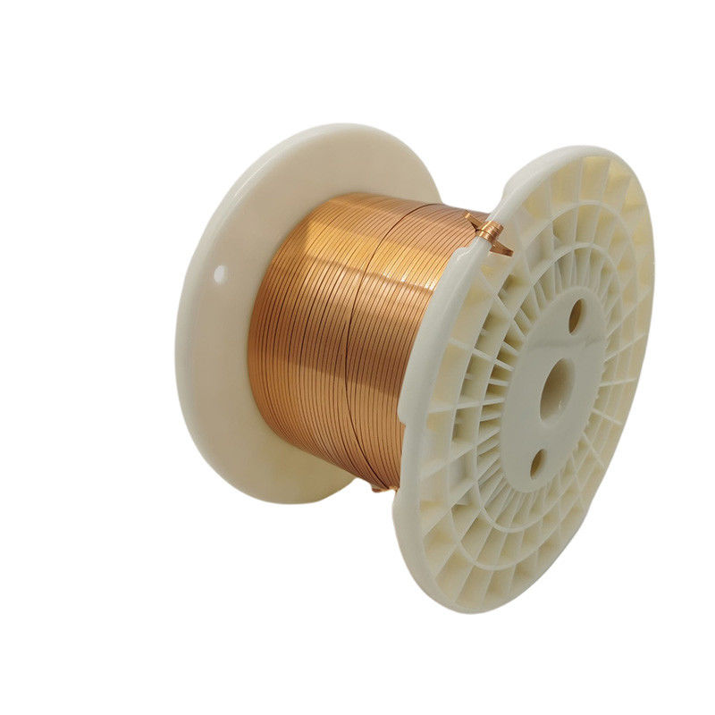 4 * 0.65Mm AIW Flat Copper Magnet Wire For Motor Winding