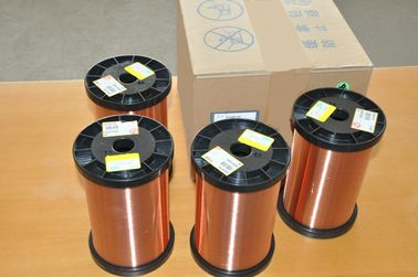Polyurethane Super Fine Enameled Round Copper Wire Class 130 - 180 For Transformers