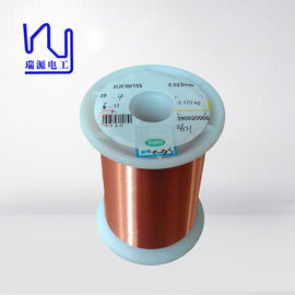 Red Transformer Copper Wire , Super Thin Enamelled Copper Winding Wire