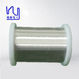High End Super Enamelled Copper Wire / Silver Plated Round Copper Wire High Conductivity