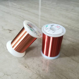 0.028mm Polyester Enameled Ultra Fine Copper Wire For Transformers / Relays