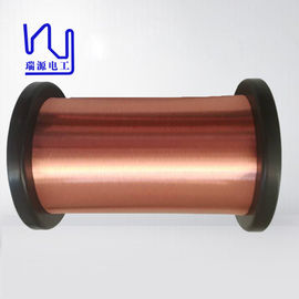 Awg 48.5 G1 Class 155 Copper Enameled Wire / Copper Magnet Wire With Iec Standard