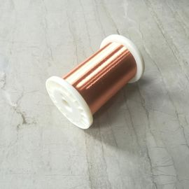 Normal Size Enameled Round Copper Wire Polyester Coating Good Solderability