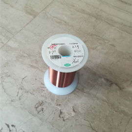 AWG 37 Self Bonding Enamel Coated Copper Wire 0.114mm ISO9001 Certified