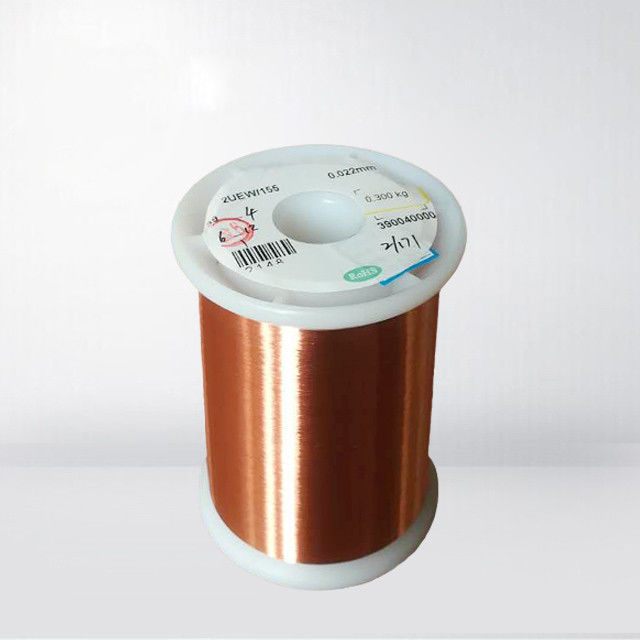 AWG 20 - 26 Enamelled Copper Wire Magnet Wire For Voice Coils