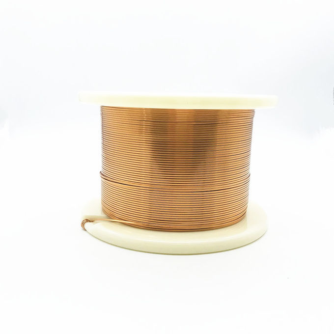 3.00 * 0.35 mm Rectangular Enameled Copper Wire Enameled Flat Copper Wire For Winding